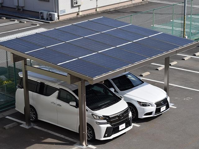サンレールポート【高耐久太陽光発電カーポート】