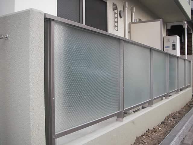 【クリアレール30(一段・二段ガラスデザイン)】