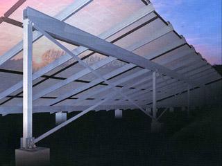 太陽光発電パネルアルミ架台<br> 【サンレールステージ】