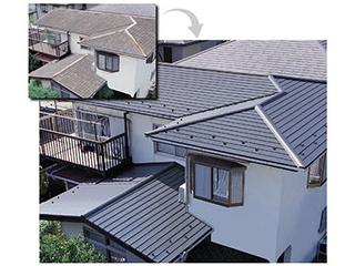 【カレッセS 遮熱plus】多彩・美・高品質なリフォーム用屋根建材