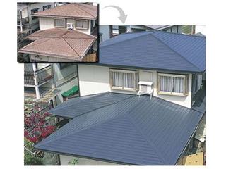【カレッセS 遮熱plus】リフォーム用ガルバリウム鋼板屋根