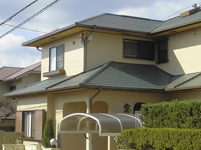 【カレッセS 遮熱plus】災害に強い屋根