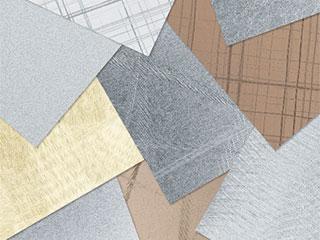 Alumirai【アンティクヘアー】 <br> 『デザイン研磨アルミ内装パネル』