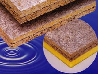 高圧木毛セメント板貼り木毛セメント板【シャオンボードF】