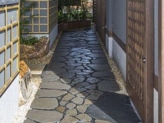 長野県 諏訪鉄平石