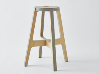 PW stool【Paper-Wood / ペーパーウッド】