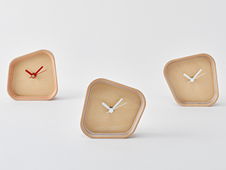 Paper-Wood clock【rotation】