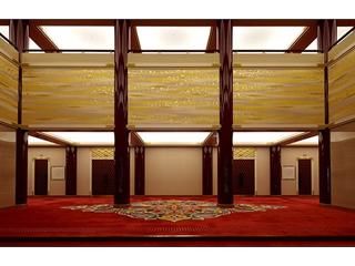 空間を演出する内装用織物