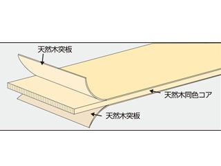 タイトウッド シリーズ HIKIZAI 挽材(天然木積層木口材)