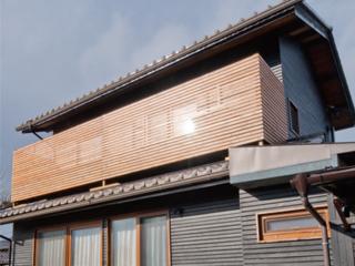 ファサードラタン(木製外壁材)