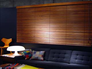 木製横型ブラインド<br> 【ティンバーベネチアンブラインド】