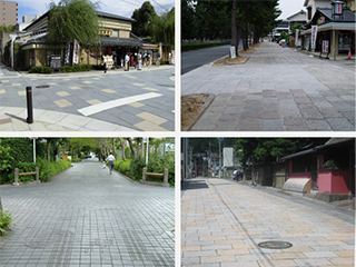 QT工法 車道用ブロック舗装強化基盤工法