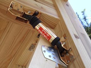 木造住宅用制震ダンパー「αダンパーEx2」