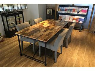 パレット材テーブル
