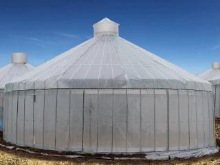 営農型 ドーム型ビニールハウス
