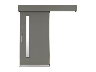 スチール製スライド防音ドア(引戸)